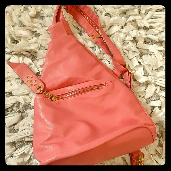 Handbags - Pink salmon bag